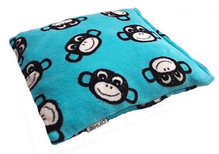 polštářek Monkey Turquoise