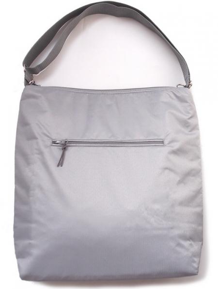 velká taška na kočárek Pinkie Plain Grey