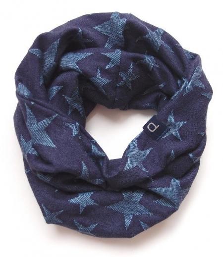 nákrčník Jeans Blue Stars