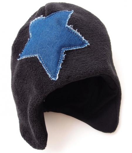 čepička Black Jeans Star