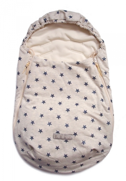 fusak Little Stars Blue 0-12měsíců