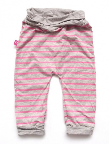 tepláčky Stripes Grey/Pink