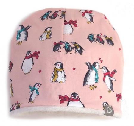 čepice Pink Penguin