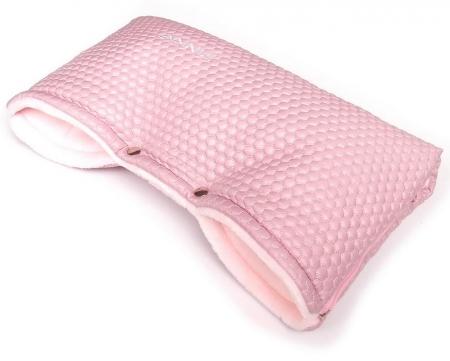 rukávník Light Pink Comb