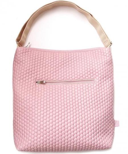 velká taška na kočárek Light Pink Comb