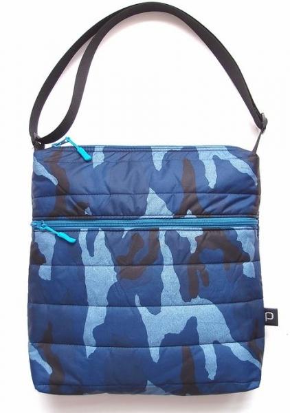 taška pro děti Blue Camo