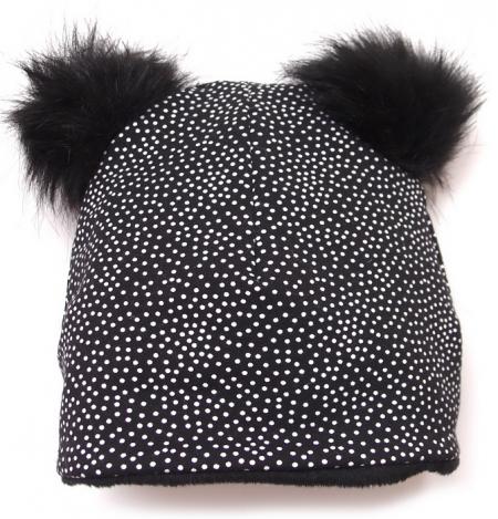 čepice Black Dots Bobble