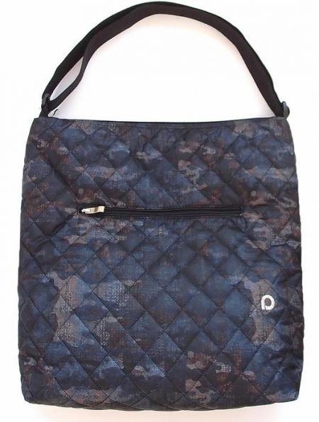 velká taška na kočárek Camo Blue