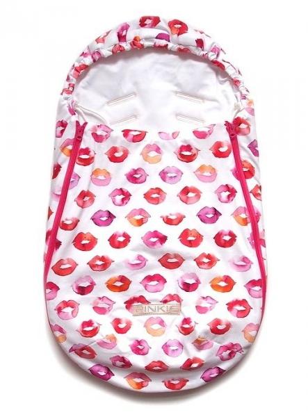 fusak Pinkie Kiss White 0-12měsíců
