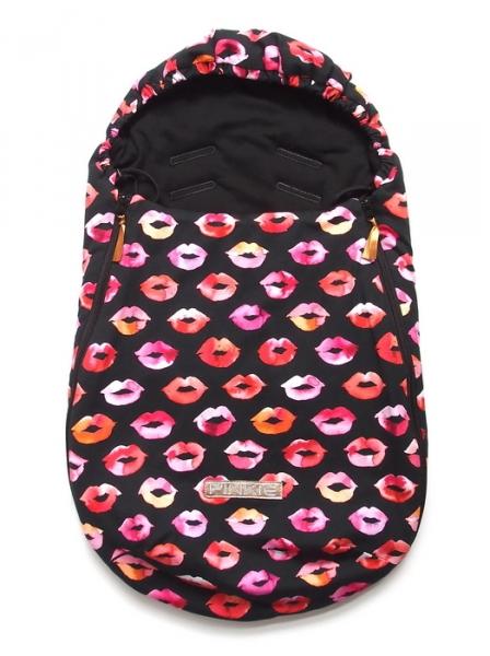 fusak Pinkie Kiss Black 0-12měsíců
