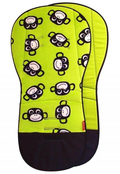 prodloužená podložka Monkey Green