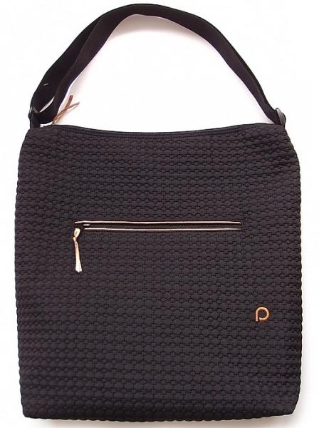 velká taška na kočárek Small Black Comb
