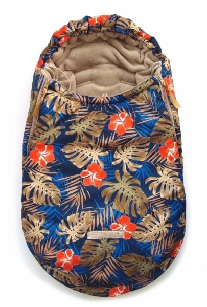 zimní fusak Plain Palm 0-12měs