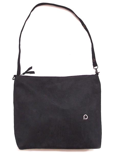 malá taška Suede Black