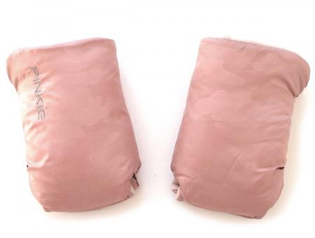 rukavice na kočárek Pink Camo