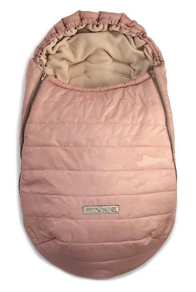 zimní fusak Pink Camo 0-12měs