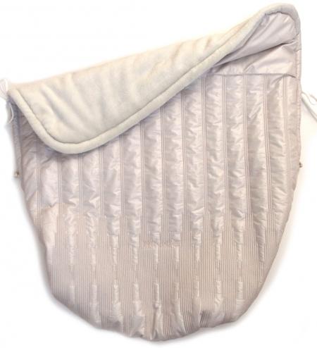 zateplená stahovací deka Pinkie Light Taupe