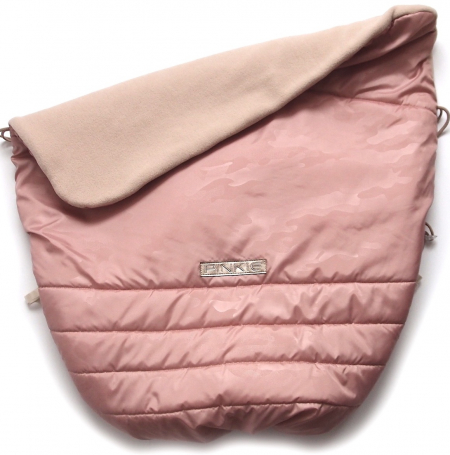 zateplená stahovací deka Pinkie Pink Camo