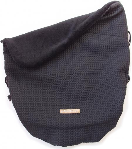 zateplená stahovací deka Small Black Comb
