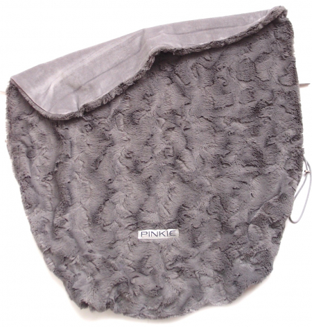 deka se stahováním Fur Grey