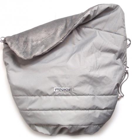 zateplená stahovací deka Pinkie Plain Grey