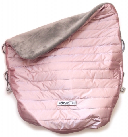 zateplená stahovací deka Pink Line