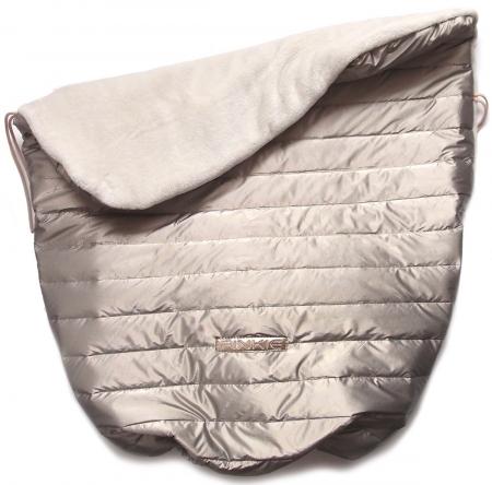 zateplená stahovací deka Taupe Line