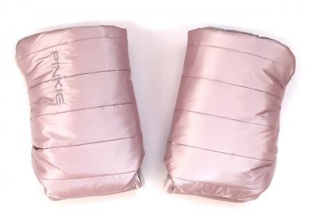 rukavice na kočárek Pink Line