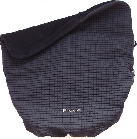 zateplená stahovací deka Little Square Black