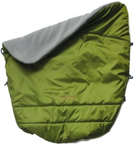 zateplená stahovací deka Pinkie Green