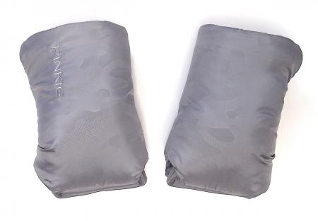 rukavice na kočárek Grey Camo