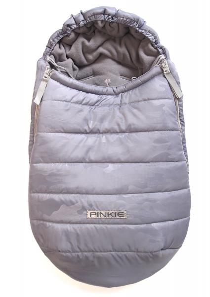 zimní fusak Grey Camo 0-12měs