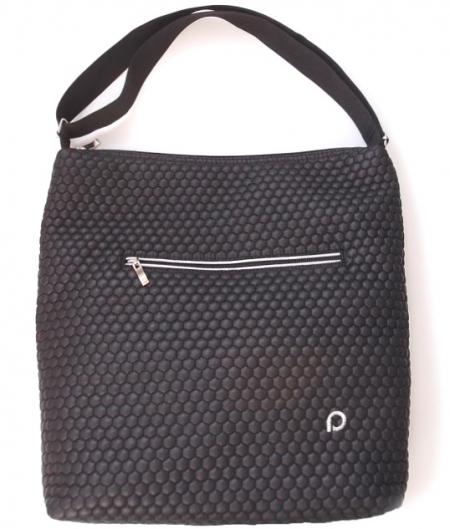 velká taška na kočárek Black Comb