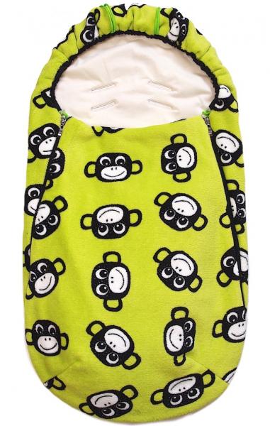 jarní/podzimní fusak Monkey Green BIO