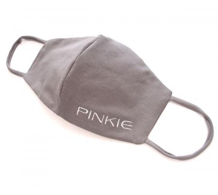 rouška Pinkie BIO šedá