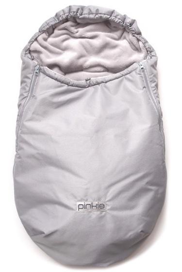zimní fusak Plain Grey 0-12měs