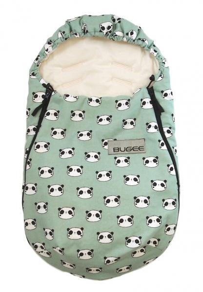 fusak Bugee Panda Mint BIO 0-12měsíců