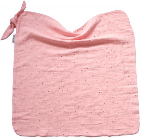 letní deka Pinkie Muslin Light Pink