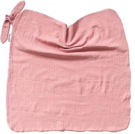 letní deka Pinkie Muslin Pink Dots