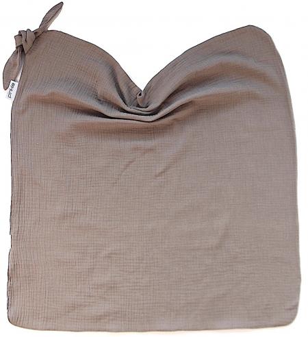 letní deka Pinkie Muslin Taupe