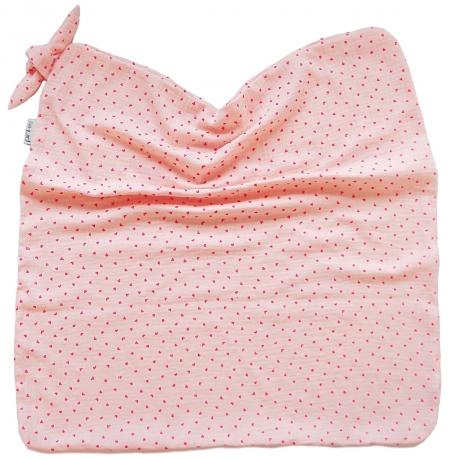 letní deka Pinkie Muslin Soft Pink
