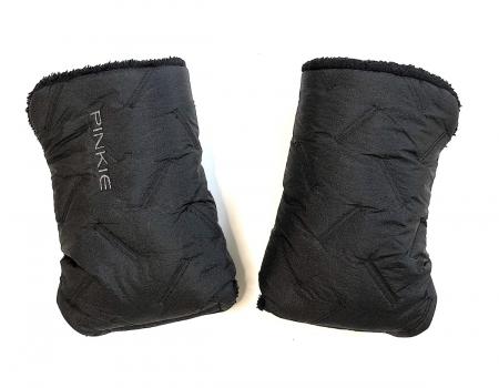 rukavice na kočárek Zigzag Black
