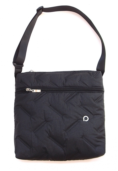 malá taška Zigzag Black-crossbody