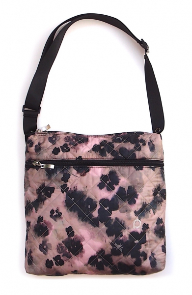 malá taška Black Flowers-crossbody