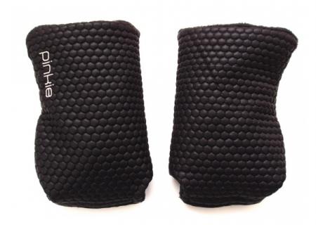 rukavice na kočárek Black Comb