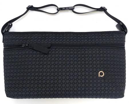 organizér Small Black Comb s přední kapsou-L