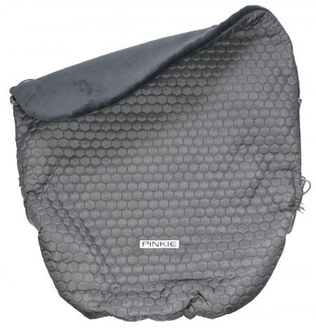 zateplená stahovací deka Big Comb Grey