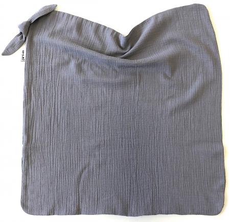 letní deka Pinkie Muslin Grey All