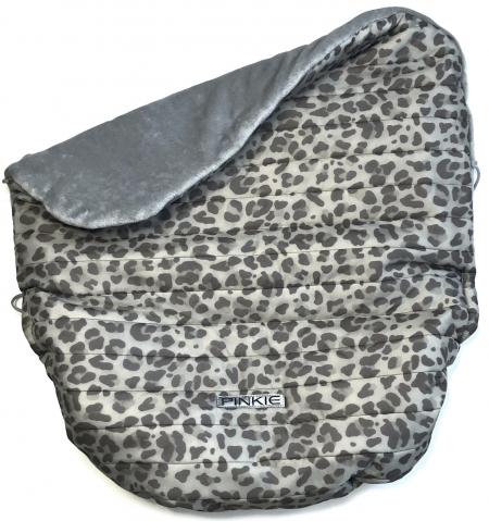 zateplená stahovací deka Animal Grey