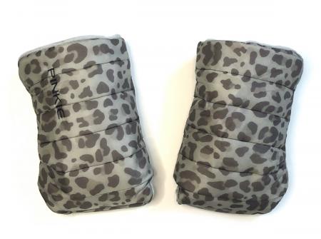 rukavice na kočárek Animal Grey